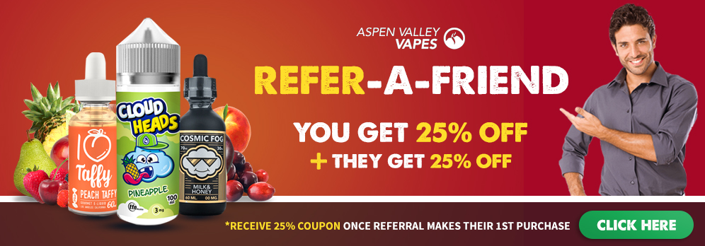 Aspen Valley Vapes Referral Program