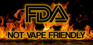 FDA Not Vape Friendly