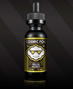 cosmic fog milk & honey e-liquid