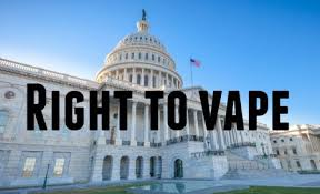 Right to vape
