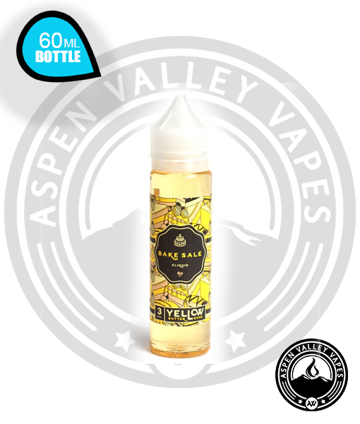 Bake Sale E-Liquid Yellow Butter Cake