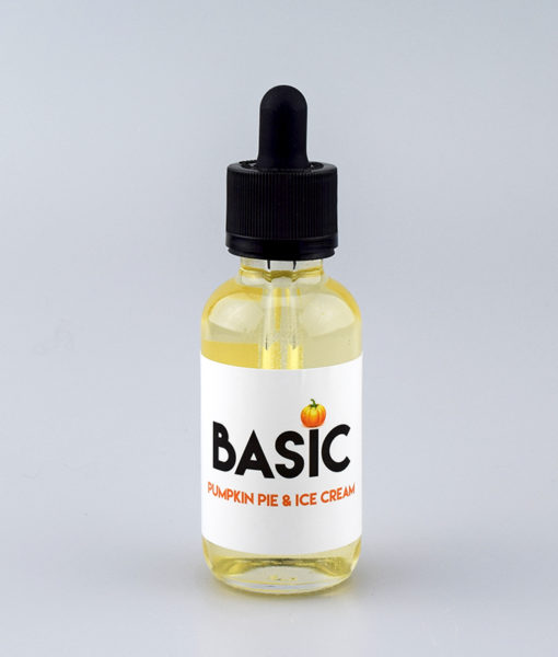 basic pumpkin pie and ice cream e-liquid