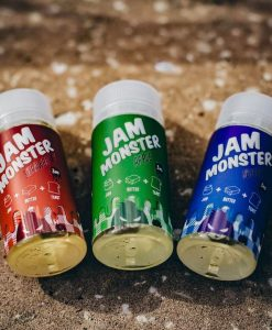 jam monster liquids apple blueberry and strawbbery
