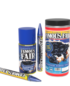 famous fair blueberry funnel cake e-liquid