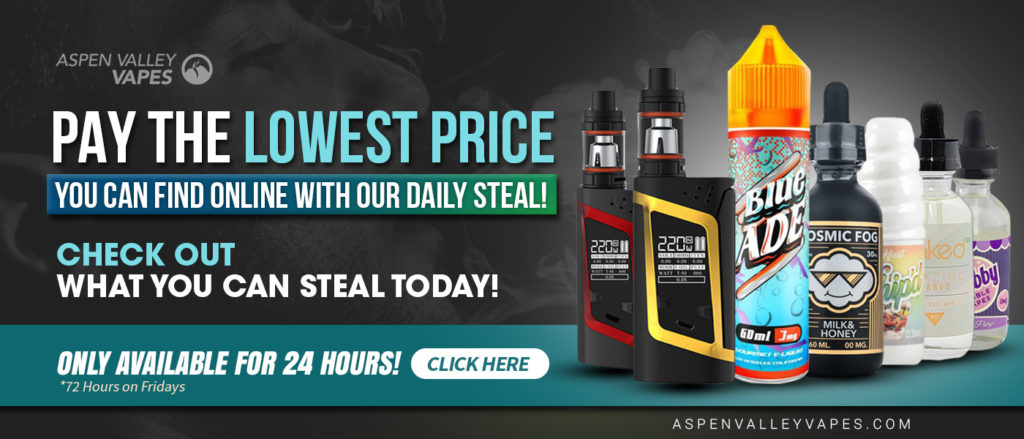 Aspen Valley Vapes Daily Steal
