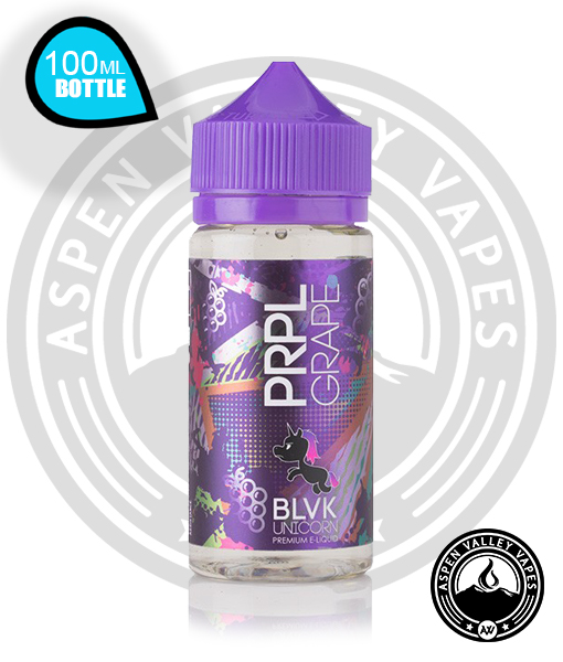 BLVK Unicorn PRPL Grape Vape Juice