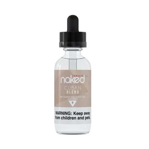 Naked100 Tobacco Cuban Blend