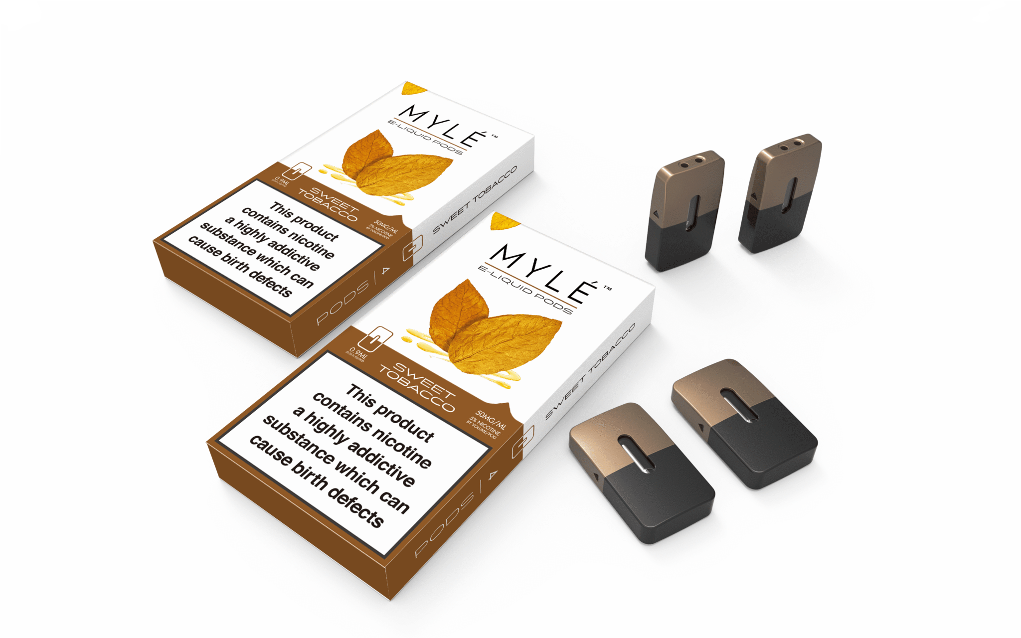 MYLE Pods - Sweet Tobacco 4 Pack