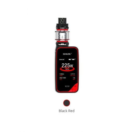 smok x priv black and red