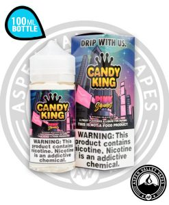 Candy King Pink Squares 100mL Unicorn Bottle