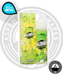 Bazooka Sour Straws Green Apple Vape Juice