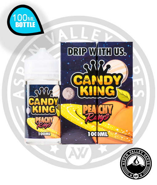 Candy King Peachy Rings Vape Juice