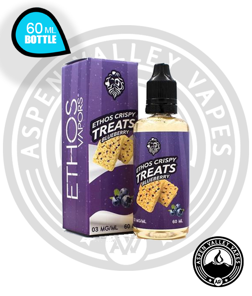 Ethos Crispy Treats Blueberry Vape Juice