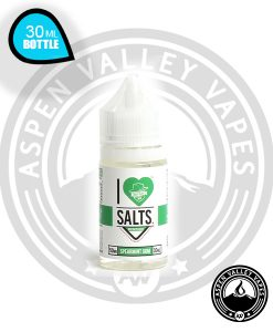 I Love Salts Spearmint Gum Vape Juice