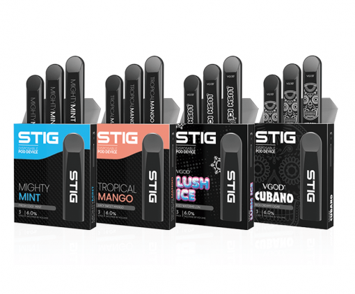STIG disposable pod by vgod