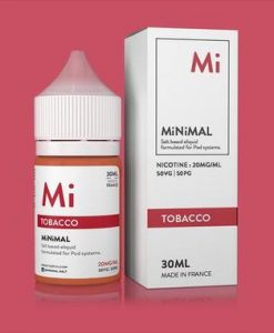 Minimal Salt Nic Tobacco E-Liquid