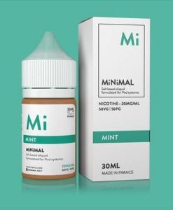 Minimal Salt Nic Mint E-Liquid