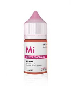 Minimal Salt Nic Berry Lemonade E-Liquid