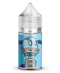 Salt Factory Blue Razz Salt Nicotine E-Juice