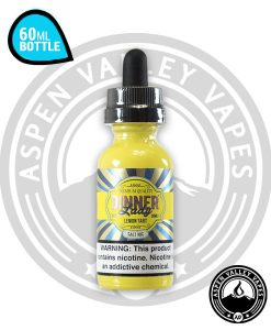 Dinner Lady Salt Lemon Tart 30mL Glass Bottle