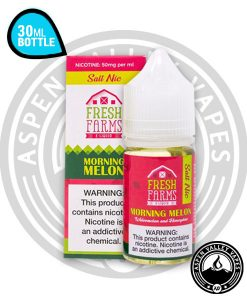 Fresh Farms Morning Melon Salt Nic 30mL Unicorn Bottle