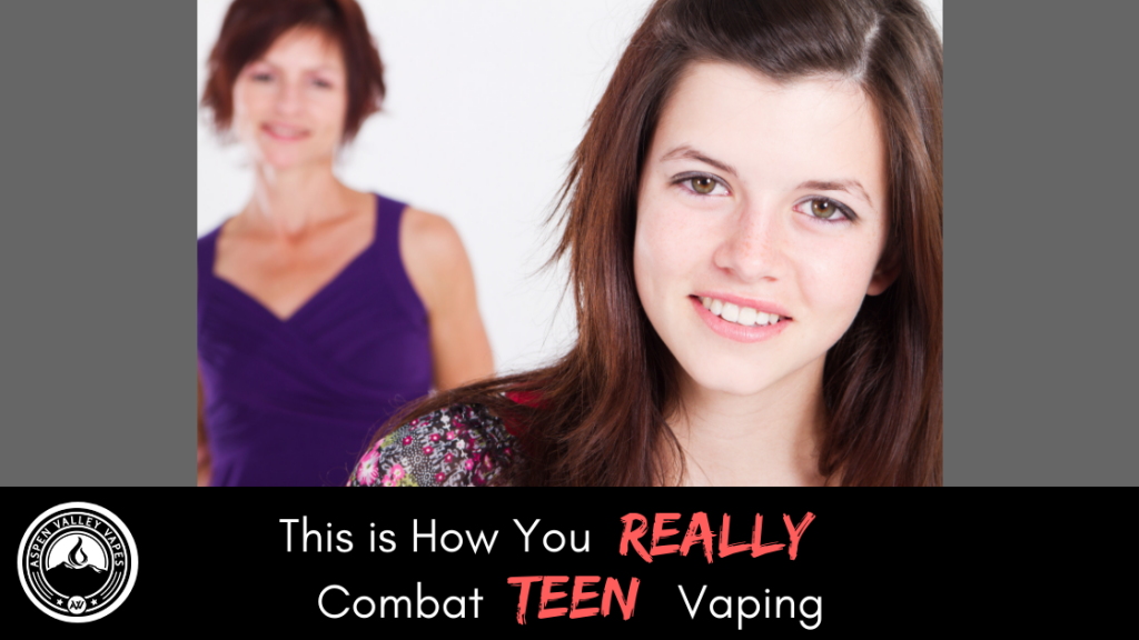 This is How You REALLY Combat Teen Vaping