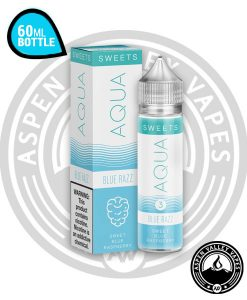 Aqua Blue Razz 60mL Unicorn Bottle