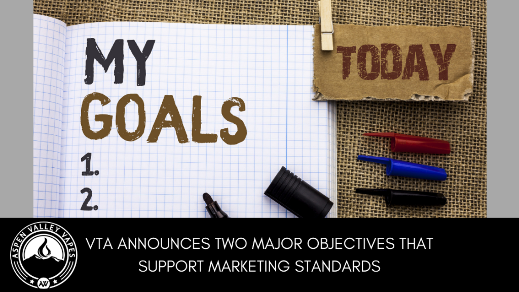 VTA Announces Two Major Objectives that Support Marketing Standards
