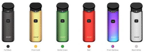 SMOK Nord Pod Starter Kit Colors